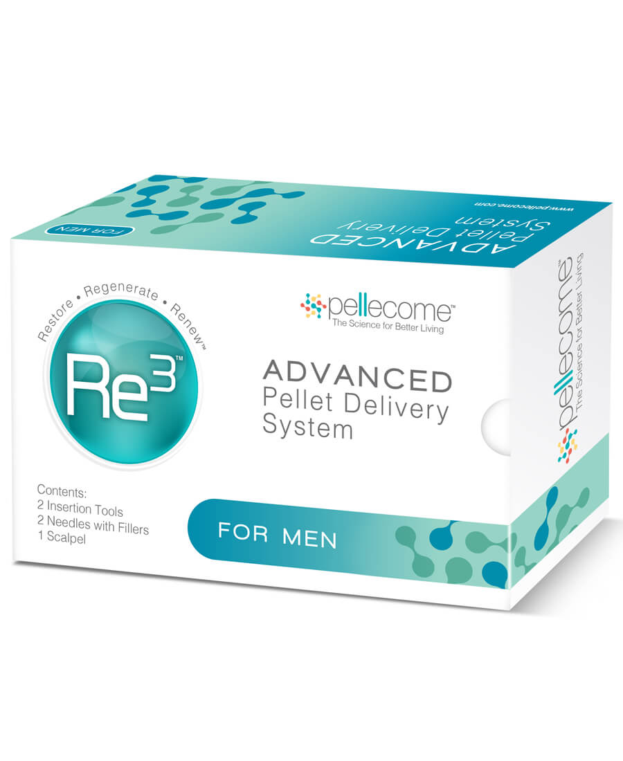 Re3 Advanced Pellet Delivery System for Men (Case)