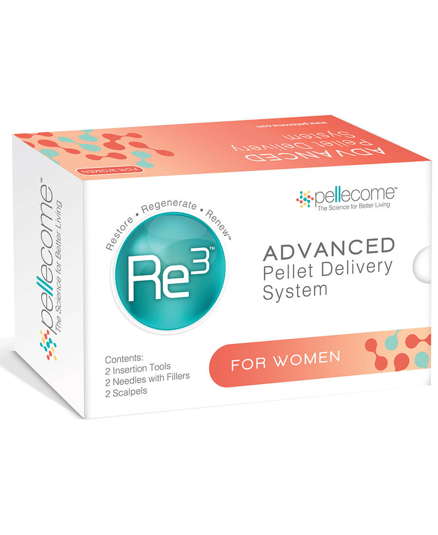 Re3 Advanced Pellet Delivery System for Women (Case)